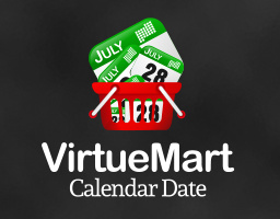 virtuemart calendar date plugin
